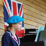 Piano concert at jubilee celebrations